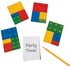 Block Party Notepads (Pack of 12)