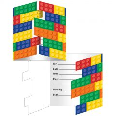 Block Party Invitations (Pack of 8)