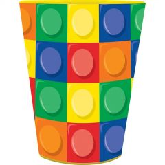 Block Party Large Plastic Cup