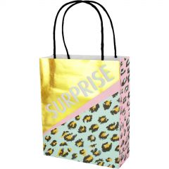 Leopard Pizazz Paper Gift Bags (Pack of 8)