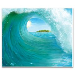 Surf Wave Wall Decoration