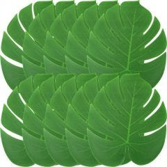 Artificial Tropical Palm Leaves 35cm (Pack of 12)