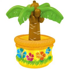Tabletop Inflatable Palm Tree Drinks Cooler