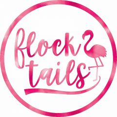 Flock Tails Flamingo Drink Coasters (Pack of 18)