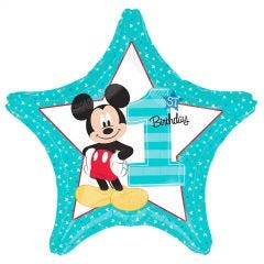 Mickey Mouse Fun To Be One Star Helium Balloon