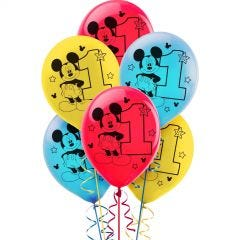 Mickey Mouse Fun To Be One Balloons (Pack of 15)