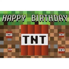 TNT Party Fabric Backdrop