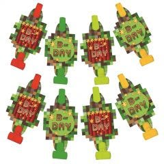 TNT Party Blowers (Pack of 8)