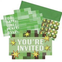 TNT Party Invitation Set (Pack of 8)