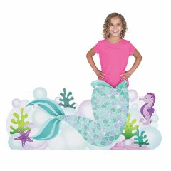 Mermaid and King Neptune Party Photo Prop