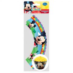 Mickey Mouse Cupcake Wrappers (Pack of 12)