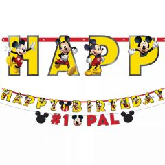 Mickey Mouse Forever Jumbo Add an Age Banner Kit