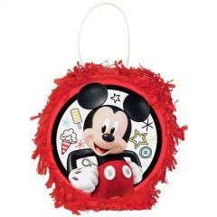 Mickey Mouse On The Go Mini Pinata Favour Container