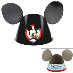 Mickey Mouse on the Go Paper Party Hats (Pack of 8)