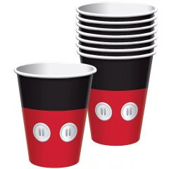 Mickey Mouse Forever Paper Cups (Pack of 8)