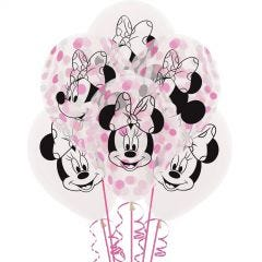 Minnie Mouse Forever Latex Confetti Balloons
