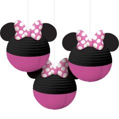 Minnie Mouse Forever Paper Lanterns (Pack of 3)