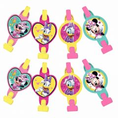 Minnie Mouse Bow-tique Party Blowers (Pack of 8)