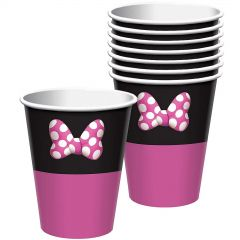 Minnie Mouse Forever Paper Cups (Pack of 8)