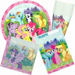 My Little Pony Friendship Party Pack (For 8 Guests)