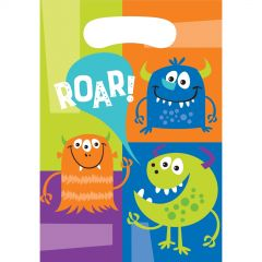 Fun Monsters Lolly/Treat Bags (Pack of 8)