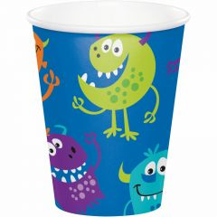 Fun Monsters Small Paper Plates (Pack of 8)
