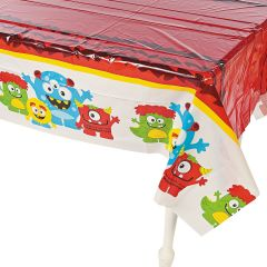 Monster Plastic Tablecloth