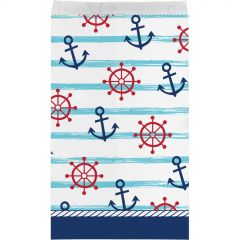Nautical Adventure Paper Lolly/Treat Bags (Pack of 8)
