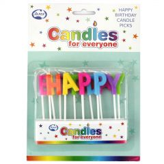 Happy Birthday Candles (Pack of 13)