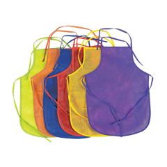 Children's Bright Aprons (Pack of 12)