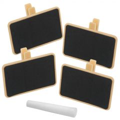 Chalkboard Clips (Pack of 4)