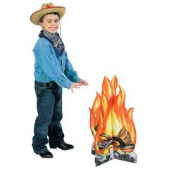 Campfire Stand Up Photo Prop
