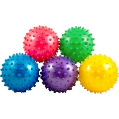 Assorted Coloured Spike Balls (Pack of 12)