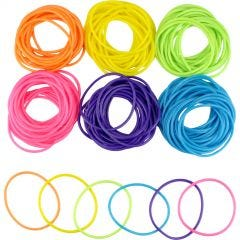 Assorted Neon Jelly Bracelets (Pack of 144)