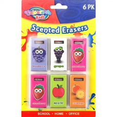 Scented Erasers (Pack of 6)