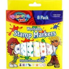 Washable Stamp Markers (Pack of 8)