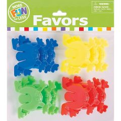 Plastic Jumping Frogs (Pack of 12)