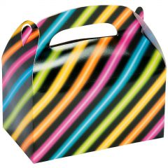 Neon Glow Party Lolly/Treat Boxes (Pack of 12)