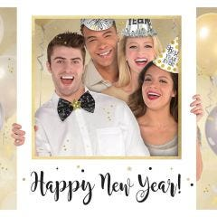 New Year Photo Booth Prop Set (Pack of 10)