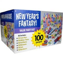 New Year Gold Star Party Kit (For 50 guests)