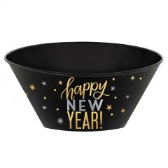 Happy New Year Plastic Serving Bowl