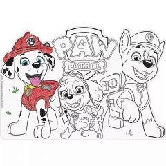 Paw Patrol Adventures Paper Colouring In Placemats (Pack of 8)