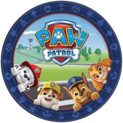 Paw Patrol Adventures Large Paper Plates (Pack of 8)