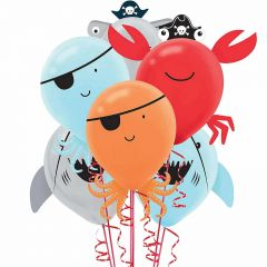 Pirate Balloons (Pack of 6)