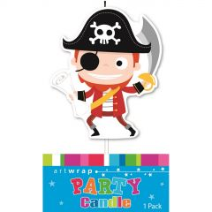 Little Pirate Candles (Set of 5)
