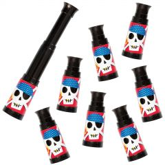 Ahoy Pirate Telescopes (Pack of 8)