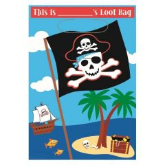Pirate Lolly/Treat Bags (Pack of 8)