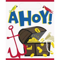 Ahoy Pirate Lolly/Treat Bags (Pack of 8)