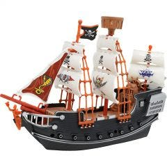 Detailed Toy Pirate Ship.