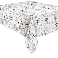 Ahoy Pirate Activity Paper Tablecloth
